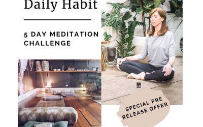 August 3, 2020 – 5-day Meditation Challenge